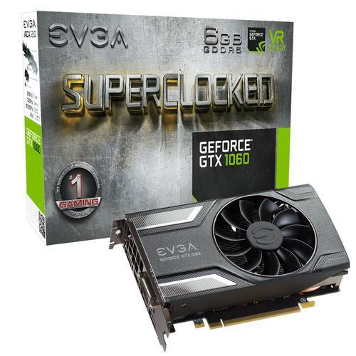 VGA EVGA GEFORCE GTX 1060 SC GAMING