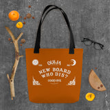 """New Board, Who Dis?"" Totebag"