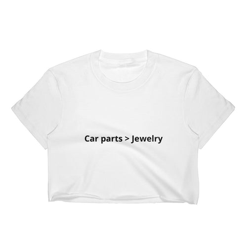 Car parts > Jewelry crop top for women