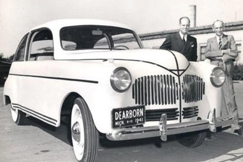 Henry Ford's hemp car prototype
