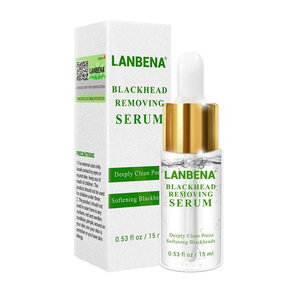 LANBENA Blackhead Removing Serum Deep Pore Acne Pimple Gentle removal Acne Treatment Shrink Pores Purifying Skin Care 15ml