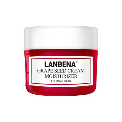 LANBENA Grape Seed Facial Cream Lifting Firming Deeply Repairing Nourishing Protecting Revitalizing Tighten Skin Face Care 40g
