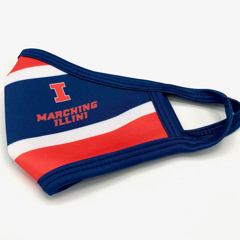 Marching Illini Mask