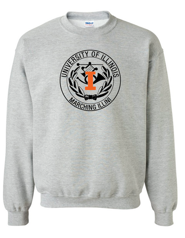 Gildan - Sport Grey Heavy Blend Crewneck Sweatshirt - 18000
