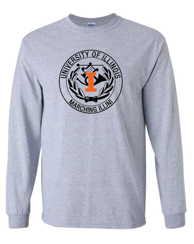 Gildan -  Sport Grey Ultra Cotton® Long Sleeve T-Shirt - 2400