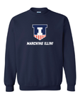Gildan - Navy Heavy Blend Crewneck Sweatshirt - 18000