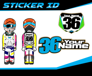 Sticker ID kits