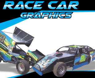Sprint car racing graphics