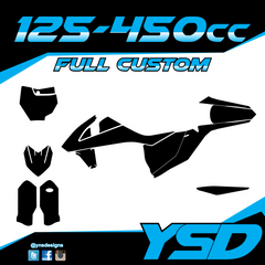 125-450 cc Full Custom Kit - Y&S Designs, LLC