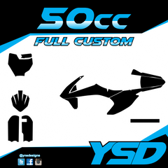 50 cc Full Custom Kit - Y&S Designs, LLC