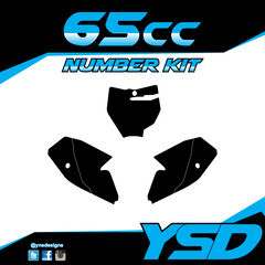 65 cc Number Kit - Y&S Designs, LLC