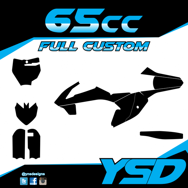 65 cc Full Custom Kit - Y&S Designs, LLC
