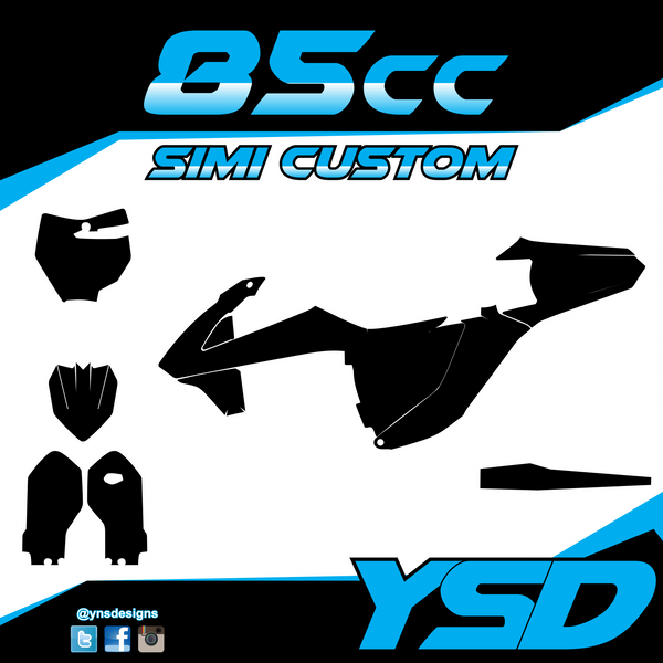 85 cc Semi Custom Kit - Y&S Designs, LLC