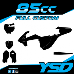 85 cc Full Custom Kit - Y&S Designs, LLC