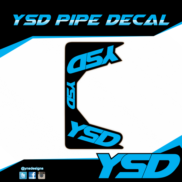 YSD Pipe Decal
