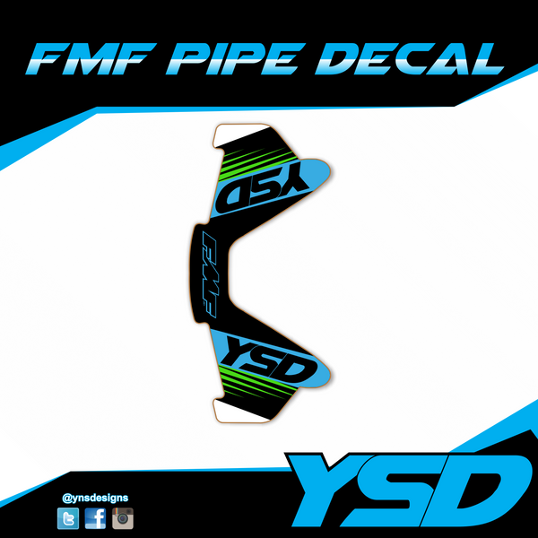 FMF Pipe Decal