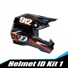 Helmet ID kit 1 - Y&S Designs, LLC