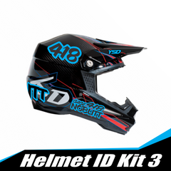 Helmet ID kit 3 - Y&S Designs, LLC