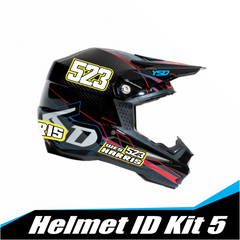 Helmet ID kit 5