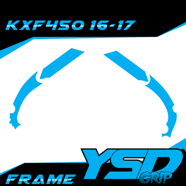 KXF450 16-17 frame - Y&S Designs, LLC