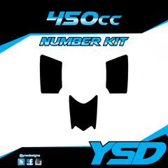 450 cc Number Kit
