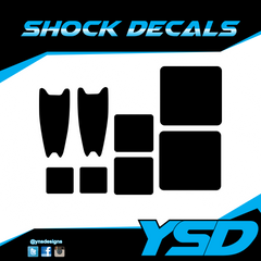 Shock Decals - Y&S Designs, LLC