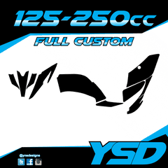125-250 cc Full Custom Kit