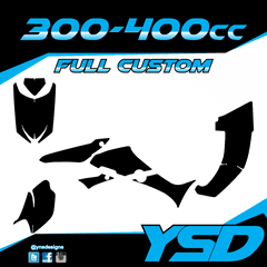 300-400 cc Full Custom Kit
