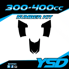 300-400 cc Number Kit
