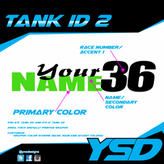 Tank ID 2 - Y&S Designs, LLC