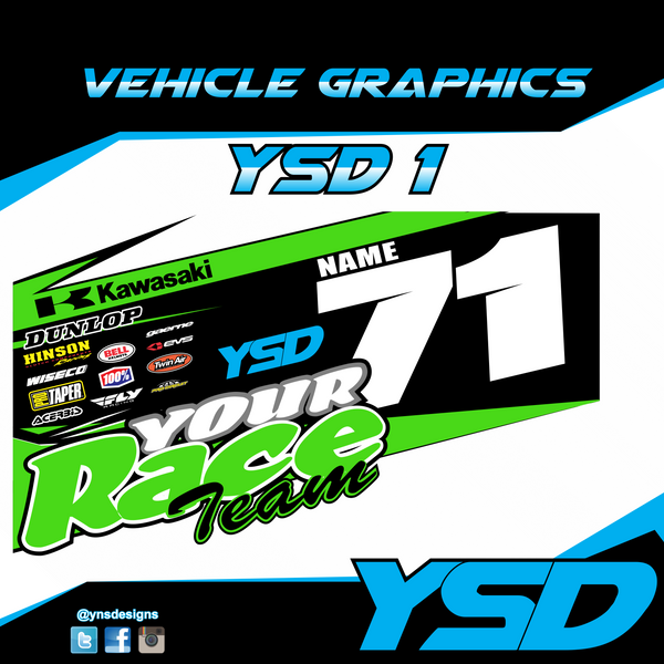Vehicle Graphic YSD 1