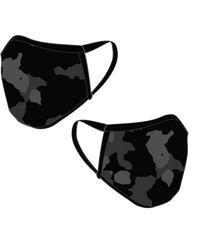 BLACK CAMO FACE MASK - Y&S Designs, LLC