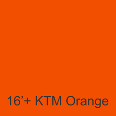 YSD Grip KTM Orange 2016+ Wrap sheet