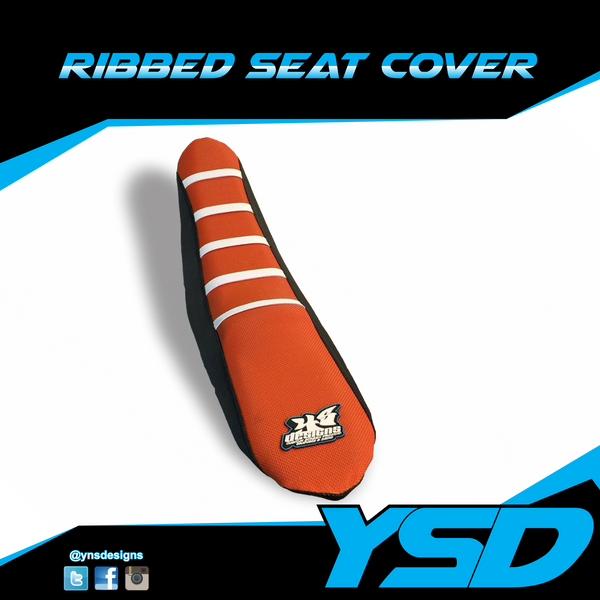 Dirt Bike Ribbed Seat Cover - Y&S Designs, LLC