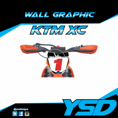 KTM XC Wall Graphic