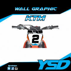 KTM Wall Graphic