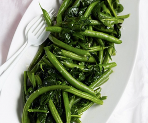 Green Beans, Silverbeet, Lemon and Thyme
