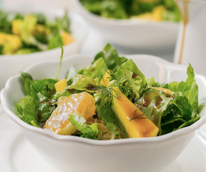 Summer Salad - Mango, Orange & Dill