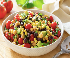 Sweet Corn, Avocado and Bean Salad