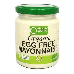 Mayonnaise Egg Free by Absolute Organics 250gm