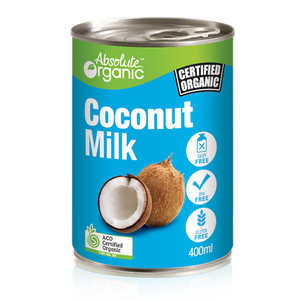 Coconut Milk - Absolute Organic 400ml