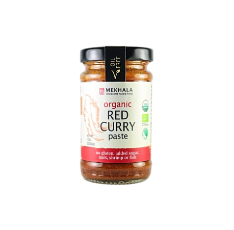 Mekhala Organic Red Curry Paste 100g