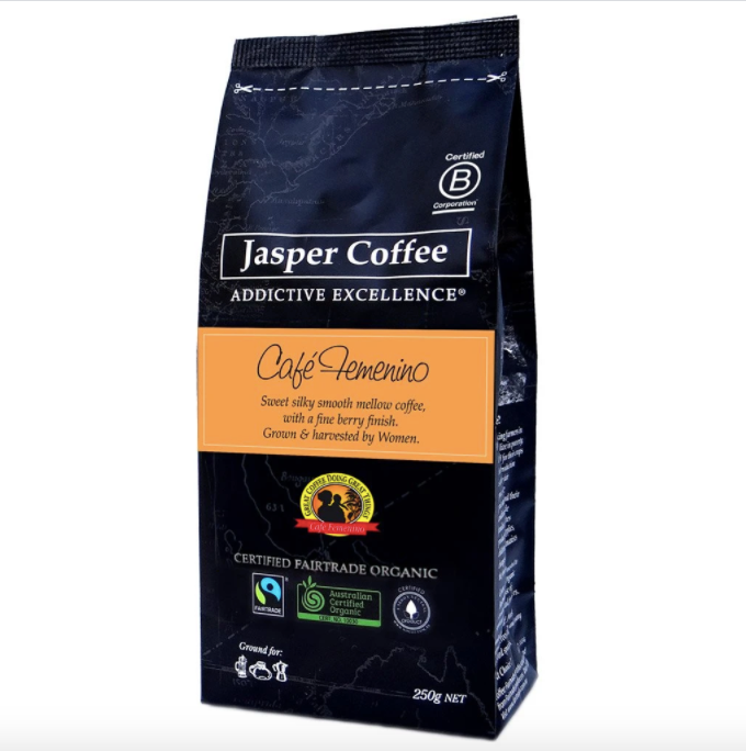 Coffee - Jasper Cafe Fememino 250g On Special!
