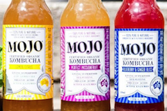 Mojo Kombucha Strawberry & Hibiscus