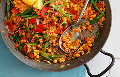 Organic Fare - Spanish Vegetable Paella