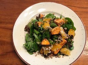 Organic Fare - Thai Sweet Potato Orange Salad