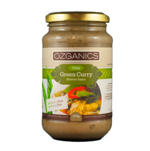 Sauce - Ozganic Green Curry Sauce 375gm