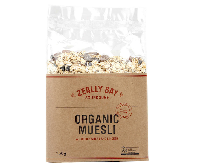 Cereal - Organic Muesli by Zeally Bay 750gm