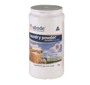 abode laundry powder sensitive front loader