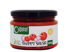 Absolute Organics Sweet Salsa 280gm $5.57
